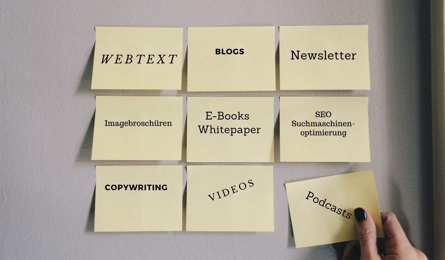 Post-its-Content